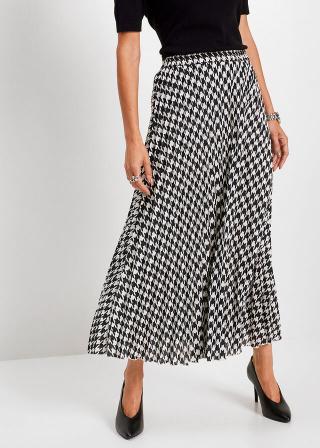 Plisovaná sukňa dámské biela 42,36,38,40,44,46,48,50,52,54