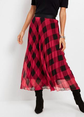 Plisovaná sukňa dámské čierna 42,36,38,40,44,46,48,50,52,54
