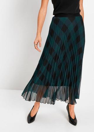 Plisovaná sukňa dámské modrá 42,36,38,40,44,46,48,50,52,54