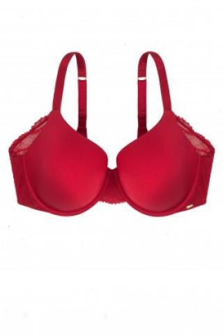 Podprsenka Dorina D00824M - barva:DORE70/červená, velikost:75E dámské 75E