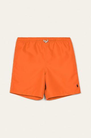 Polo Ralph Lauren - Detské plavkové šortky 134-176 cm oranžová 134