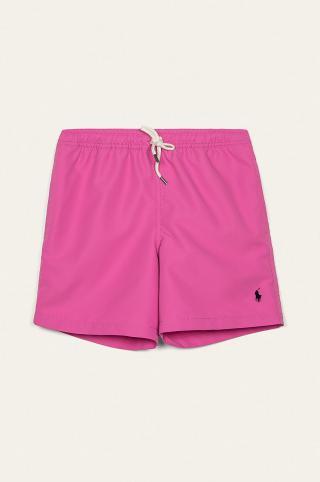 Polo Ralph Lauren - Detské plavkové šortky 134-176 cm ružová 164-176