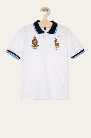 Polo Ralph Lauren - Detské polo tričko 134-176 cm biela 140-146