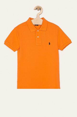Polo Ralph Lauren - Detské polo tričko 134-176 cm oranžová 164-176