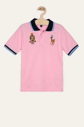 Polo Ralph Lauren - Detské polo tričko 134-176 cm ružová 134