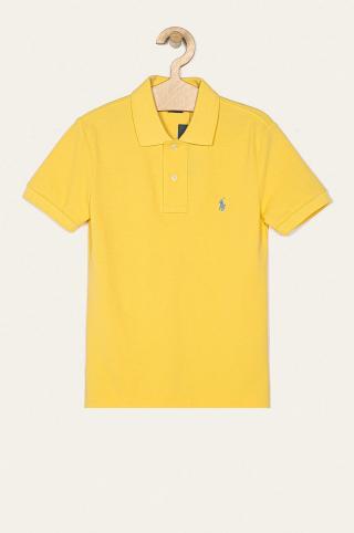 Polo Ralph Lauren - Detské polo tričko 134-176 cm žltá 134