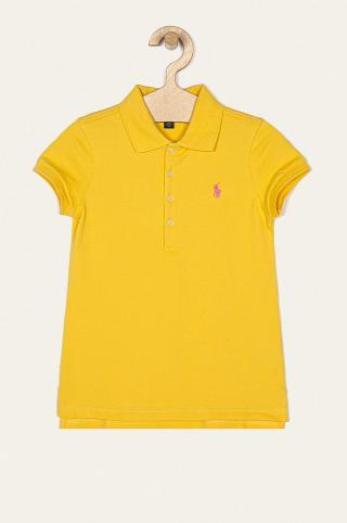 Polo Ralph Lauren - Detské tričko 134-176 cm žltá 134