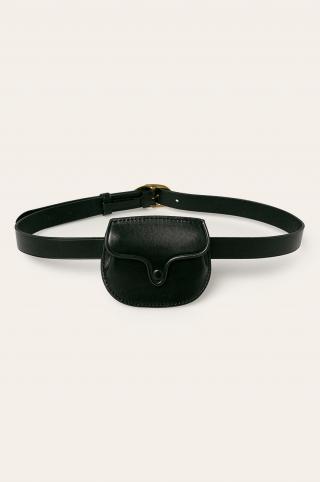 Polo Ralph Lauren - Kožený opasok dámské čierna S
