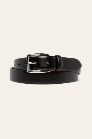 Polo Ralph Lauren - Kožený opasok pánské čierna 90