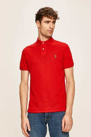 Polo Ralph Lauren - Pánske polo tričko pánské červená S