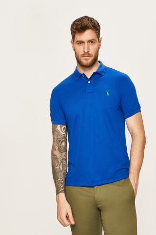 Polo Ralph Lauren - Pánske polo tričko pánské modrá S