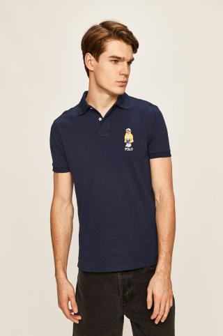 Polo Ralph Lauren - Pánske polo tričko pánské tmavomodrá S