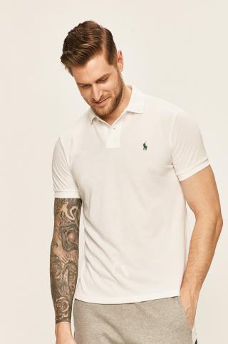 Polo Ralph Lauren - Polo tričko pánské biela S