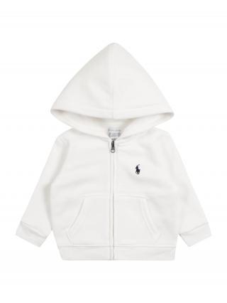 Polo Ralph Lauren Tepláková bunda  biela 62-68