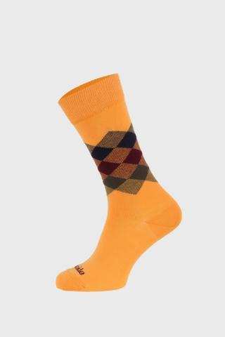 Ponožky Fusakle Kosoštvorec leto dámské žltá 43-46