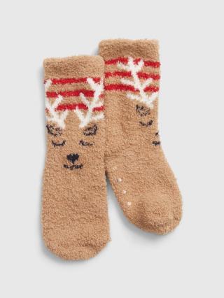 Ponožky GAP Hnedá 104-110