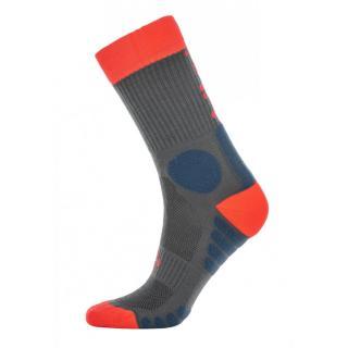 Ponožky Kilpi MORO-U dámské šedá | červená 35