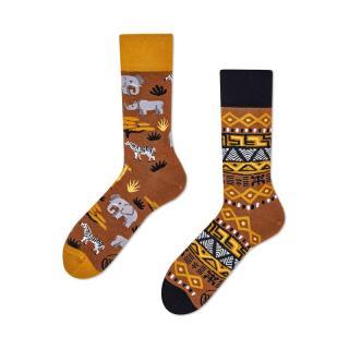 Ponožky MANY MORNINGS regular dámské hnědá 39-42