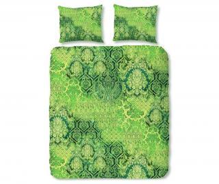 Posteľná bielizeň King Satin Veronique Green Zelená