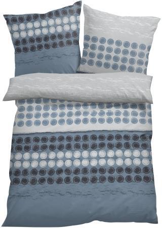 Posteľná bielizeň s grafickým dizajnom modrá 1x 80/80cm, 1x 135/200cm,2x 80/80cm, 2x 135/200cm