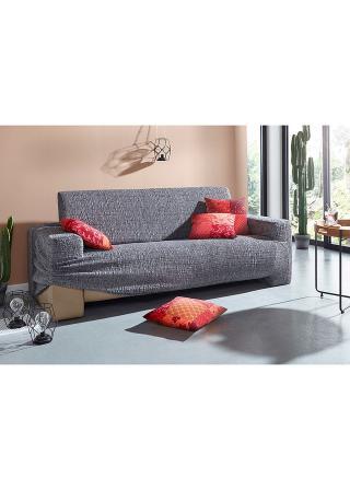 Poťah s textúrou šedá kreslo s opierkou š: 70-100 cm/80-100 cm,2-sedačková pohovka š: 70-100 cm/130-160 cm,3-sedačková poh