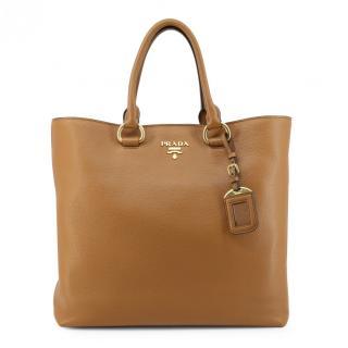 Prada 1BG865_PHENI Brown One size