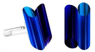 Preciosa Oceľové manžetové gombíky s kryštálmi Neon Collection by Veronica 7307 70