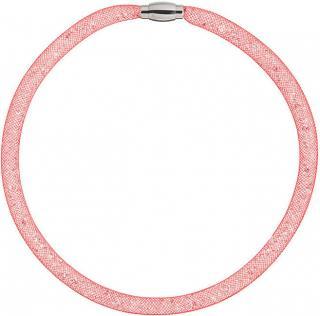 Preciosa Trblietavý náhrdelník Scarlette červený 7250 57