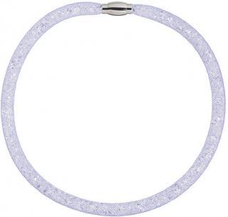 Preciosa Trblietavý náhrdelník Scarlette fialový 7250 56