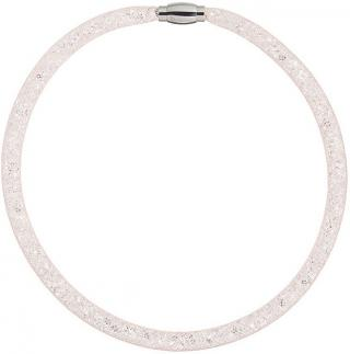 Preciosa Trblietavý náhrdelník Scarlette svetle broskyňový 7250 49