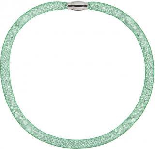 Preciosa Trblietavý náhrdelník Scarlette zelený 7250 66