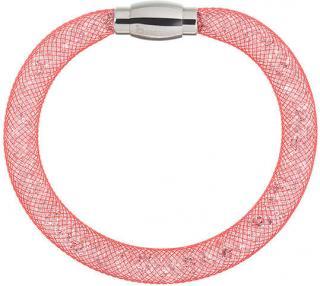 Preciosa Trblietavý náramok Scarlette červený 7251 57 dámské