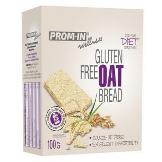 Prom-in Glutén free oat bread 100 g -ZĽAVA - KRÁTKA EXPIRÁCIA - 19.3.2021