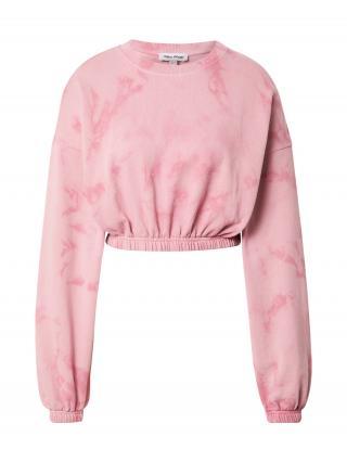 Public Desire Mikina  svetloružová / ružová dámské L