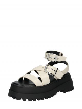 Public Desire Remienkové sandále FOLLOW  béžová dámské 38