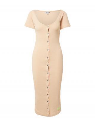 Public Desire Šaty POPPER  béžová dámské 34