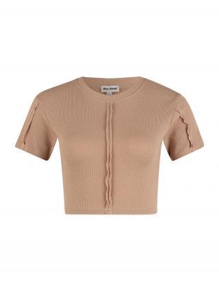 Public Desire Tričko  svetlobéžová dámské XS