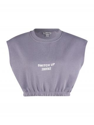 Public Desire Tričko  svetlofialová / biela dámské XS