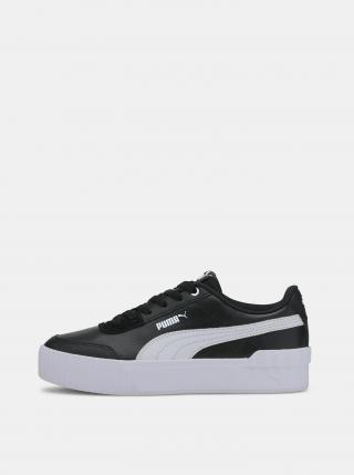 Puma čierne tenisky na platforme - 41 dámské čierna 41