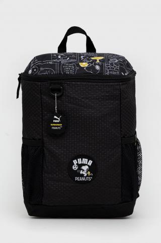 Puma - Detský ruksak x Peanuts čierna ONE SIZE