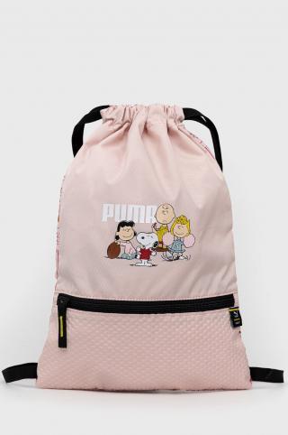 Puma - Detský ruksak x Peanuts ružová ONE SIZE