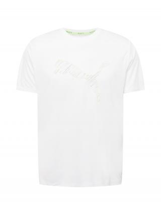 PUMA Funkčné tričko  biela / zmiešané farby pánské S