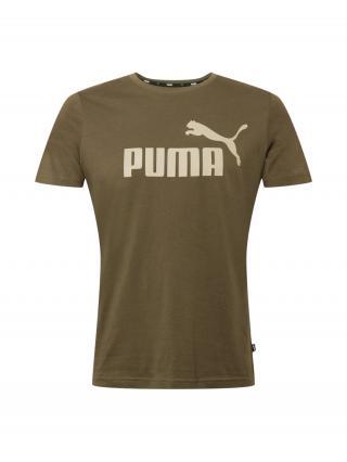 PUMA Funkčné tričko  kaki / béžová pánské L