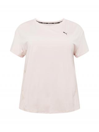 PUMA Funkčné tričko  staroružová / čierna dámské 4XL-5XL