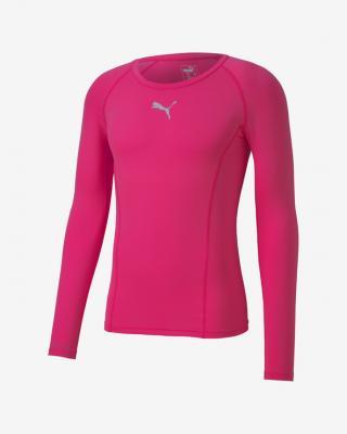 Puma Liga Baselayer Tričko Ružová pánské XL