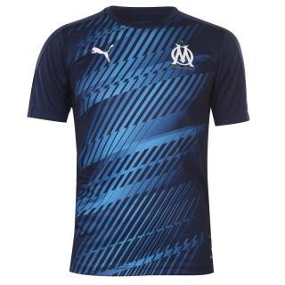 Puma Marseille Stadium Shirt 2019 2020 Mens modrá S