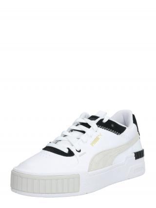 PUMA Nízke tenisky  čierna / biela dámské 36-36,5