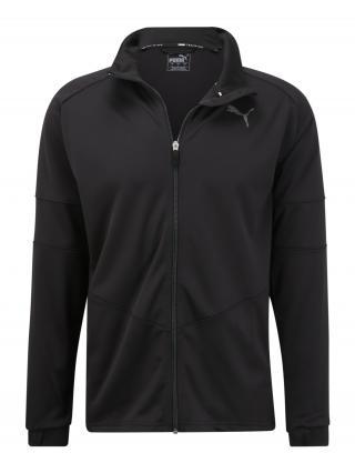 PUMA Športová bunda  čierna pánské M
