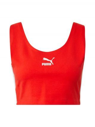 PUMA Športová podprsenka  červená / biela dámské XS