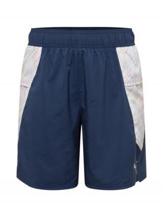 PUMA Športové nohavice  námornícka modrá / biela / zmiešané farby pánské S
